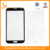 20pcs/lot Replacement For Samsung Galaxy Note 2 ii N7100 Outer Touch Screen Glass Lens White/Black Color DHL Free Shipping