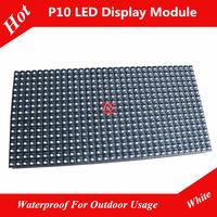 Rainproof P10 White LED Panel Module Size 320 x 160mm