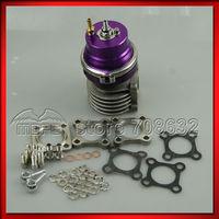 SPECIAL OFFER HIGH QUALITY 46mm V Band External Adjustable Turbo Wastegate 0.8 Bar Purple