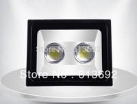 2x50w 100w  high power LED flood light floodlights outdoor garden light waterproof bridgelux 45mil chip DHL free shipping