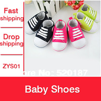 1pair Baby Shoes Kids Sneakers Sofe-Sold Infantil Sapatos Baby First Walkers Three Color For Choose -- ZYS67 Free Shipping