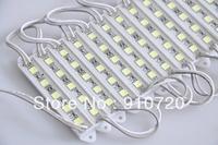 100pcs 5050 5 LED Modules Cool White Waterproof IP65 DC12V+Free Ship