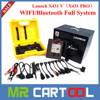 Newest 100% Original Launch X431 V = X431 PRO WIFI/Bluetooth Tablet Full System Diagnostic Tool Newest Generation X-431 V