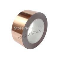 Free shipping 60mm X 30M Conductive Copper Foil Tape Copper Strip,Adhesive Copper Foil Tape