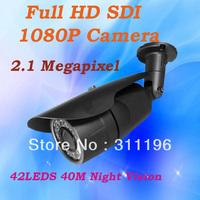 Outdoor Surveillance Camera 1080P Full HD SDI 1100TVL High Resolution CMOS Sensor IR CUT Infrared Bullet Video Camera