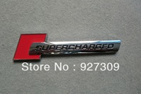 Free Shipping Cost EXCELLENT ABS Supercharged Auto Badge  Emblem
