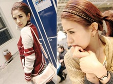 braided hair band price