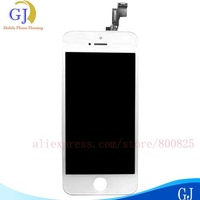 5 pcs/lot For iphone 5S lcd +Digitizer Assembly ,1000% QC PASS and 1000% good quality , color Black&White ,free shipping by DHL