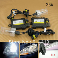 Free Shipping Brand New Xenon HID Conversion Slim Kit 35W H7 6000K