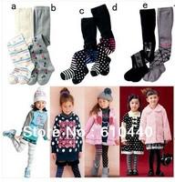 wholesale Cute baby girl's Cotton leggings children's leggings girls stocking baby girls pantyhose children's AB leggings