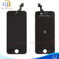 10 pcs/lot For iphone 5S lcd  screen+Digitizer Assembly ,1000% test and good quality , Black&White ,free shipping by DHL