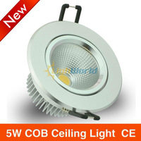 Free shipping 6PCS  LED 3w\5w 12W 85-265V Ceiling light LED lamp cob  Led Ceiling light