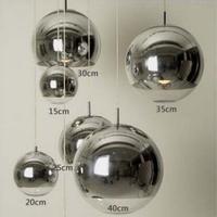 2014 Real New Lustres De Teto Personalized Single-head Round Ball Bar Counter Lamps Modern Brief Fashion Glass Pendant Light