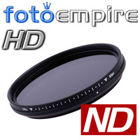 67mm Pro Slim Fader Variable Neutral Density ND Filter Adjustable from ND2 to ND400 ND2-ND400