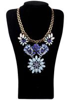 Fashion accessories elegant noble short flower design necklace pendant necklaces pendants best friend