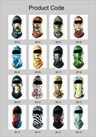 New Arrivals Motorcycle Biker Men Hood Mask Earmuffs,Airsoft Mask Animal Face Design Ventilating Neck Mask Hood Cap Scarf Veil