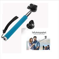 Brand Gopro Accessories Aluminium Handheld Monopod With Tripod Mount Adapter For Go pro HD Hero 1 2 3 Camera Equipment