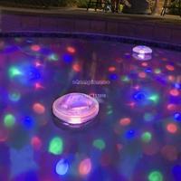 5 Light Mode Underwater LED Disco Glow Waterproof Light Show Pond Swimming Pool Hot Tub 18303