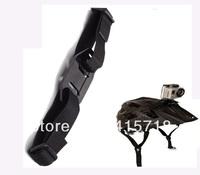 Hot Saling Brand new Outdoor Sport Camera Vented Helmet Strap Mount Adapter For Go pro HD Hero 2 Hero 3 Gopro accessories