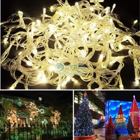 20M Warm White Led String Light 200 Led Wedding Partying Xmas Christmas Tree Decoration Lights,Led Christmas Light 220V EU 15578