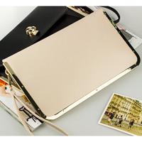 Hot sell New arrival 2014 women's handbag day clutch skull fashion gentlewomen bag messenger bag evening bag business bag