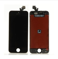5PCS/LOT LCD For iPhone 5 5G LCD with touch screen Full set Assembly White and black color free shipping