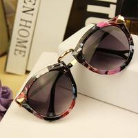 Free Shipping 2014 Brand Designer Vintage Trend Sunglasses For Women Men Round Retro Sun Glasses Sports Bike Oculos De Sol