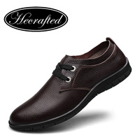 2014 new British fashion male casual shoes men's genuine leather shoes size 38-45