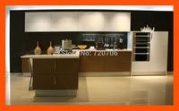 Custom villa use modern kitchen cabinet design furniture