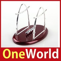 [OneWorld] Newtons Cradle Balance Ball Physics Science Fun Desk Toy Accessory Gift #02 Save up to 50%
