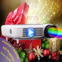 Super Star HD LED Projector Home Cinema System Video Proyector Spanish Portugese Projetor HDMI USB Projektor High lumen 1280x768