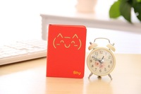 Korea Stationery Cat Notebook Diary Paper Notepad Free Shipping