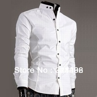 Camisa Dudalina T-Shirt Mens Slim Fit Shirts Casual Men Clothing Camisetas Masculinas Shirts Long Sleeve Free Shipping