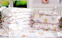 2014 Newest Baby crib bedding set Kids cot sets Kit baby for cot Bedroom gift (baby bed around,sheet crib,baby comforter cover-)