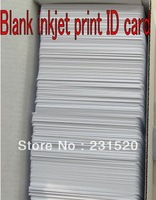 4140pcs Dual Side Direct Inkjet ID cards 0.76mm White blank cards Used in Epson Inkjet Printer
