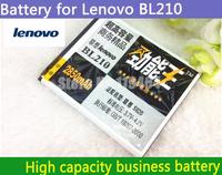 2850MAh 3.7V For Lenovo A770E A656E A658T S650 S820 A766 A750E A656 BL210 Business High large capacity battery  phone batterys