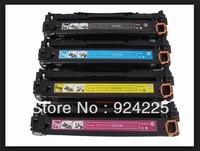 CE320A,CE321A ,CE322A,CE323A,Color Toner Cartridge Compatible For HP color LaserJet CP1525/CP1525NW/CM1415FNW BK/M/C/Y 4PCS/LOT