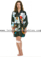Free Shipping 2013 Top Sales Ladies's  Sexy Short Design Silk NightGowns Plus Size S M L XL XXL