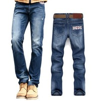 Fashion Famous Brand jeans for men Casual Uk Flag Men Jeans Plus Size Jeans for Men,Dark Blue Men's Jeans Size:28-38#