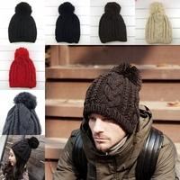 NEW Fashion Men's Women's Winter warm Beanie Hat, Cool Outdoors Cap Knitting Hat for Men Ear warm Cap Sport Hat