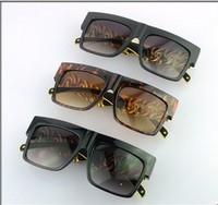 wholesale-freeshipping2013 Daikin foot metal sunglasses personalized sunglasses retro heavy metal rock sunglass