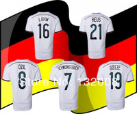 New 2014 Brasil World Cup Germany Home Soccer Jersey,Free Shipping Thail Quality!