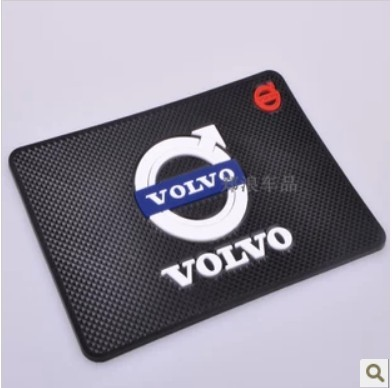 Free shipping! Car mat r mat Volvo XC60 S60 S80L C30 XC90 instrument desk slide pad(China (Mainland))