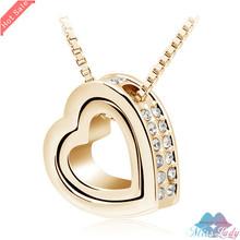 cheap heart gold jewelry