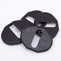 4pcs/set lock Door Striker Cover for KIA sportage(2005-2010) Mitsubishi outlander Mitsubishi Pajero asx