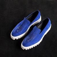 size37-45 jiniwu men's sexy party blue 3d Gordon Deall cool platform thick sole antiskid shoes male jiniwu causal shoes je01-1
