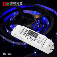 DMX512 decoder 3 channel RGB DMX512 decoder  for RGB LED lights DMX LED driver DC12V-DC24V input