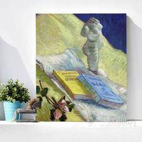 Van Gogh still life oil painting modern Plaster painting. Decorative painting. Painting the living room, European paintings