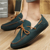 New Arrival Winter British MEN's Gommino Fashion Warm Fleece Suede Sneakers Loafer Shoes Casual Comfy Free Shipping L035592