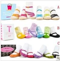 12pair/lot high quality non-slip baby girl's cotton socks baby anti-slip socks infant socks  kids floor socks